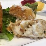洋食 キムラ - 蟹クリームコロッケ