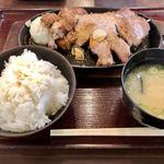 吹田サービスエリア(下り線)スナックコーナー - 料理写真:吹田とんてき定食