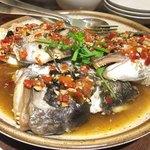 Rishoutanshousaikan - 鯛のカマの唐辛子蒸し