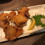 名古屋コーチン 弌鳥 - もも肉唐揚 1,350円