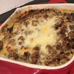 アヴェンティーノ - 牛ひき肉の赤ワイン煮とジャガイモのグラタン