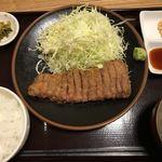 牛かつ ぎゅう太 - 和牛かつ定食 120g