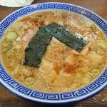 マル寛そばや - ワンタン中華そば(濃口 コッテリ)