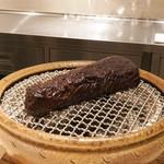 CHIUnE - 鹿肉の炭焼き