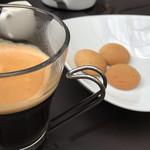 82634400 - コーヒーと、そばサブレ