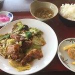 味源 - 料理写真:日替りランチ C  ご飯はお代わり自由です。