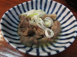 樽平 - 絶品すじ煮 700円 (2018.2)