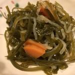 幸子のお茶漬 - 料理写真:お通し/切り昆布