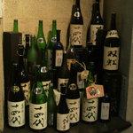 Oshikahantou - 銘酒14代がずらり