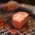 だいじゅん - 厚切牛タン塩焼き図