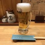 お食事処 おばら - ドリンク写真:生ビールから。