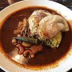 八木カレー - 料理写真:エッグカレー オリジナルベース・辛口