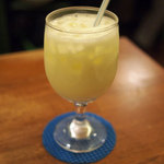 サラダの店サンチョ - 生ジュース(バナナヨーグルト)