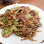 本龍 - 炒麺(皿うどん)580円