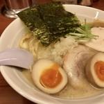 らーめん 大鳳 - 味玉鶏白湯(880円)
