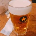 鶴松 - タイムサービスで490円→290円の生ビール