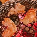 鶴松 - 豚ホルモン タレ  330円