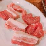 鶴松 - 岩中豚 塩  450円