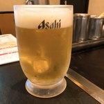 ニュー白馬 - 生ビール