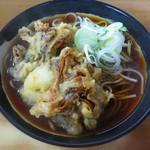 天亀そば - 舞茸天蕎麦