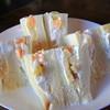 紅茶の館 源 - 料理写真:フルーツサンド