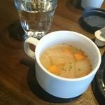 PELICAN - ランチのスープ