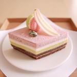 むすびcafé - 料理写真:上巳/三月のケーキ