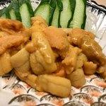 魚市 - 料理写真:雲丹のお造り   これで1800円!