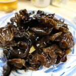 ラーメン万福 - キクラゲ酢の物150円