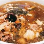 點點心 - これは、えーと、何スープ?