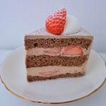 スールポッシュ - チョコレートショートケーキ(340円)