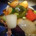 82653424 - 鶏と豆腐の唐揚げ~十二品目の野菜餡掛け~