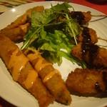 錦個室居酒屋 北の料理とお酒 うみ鮮 - 揚げ物