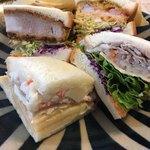 スワーハ - 料理写真:・サンドイッチ各種