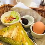 さくらCafe - 料理写真:ブレンドコーヒー¥380(税込)とAモーニング