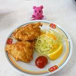 餃子の王将 - 鶏の唐揚げ ¥324