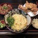 82662378 - 定食B&天ぷらA