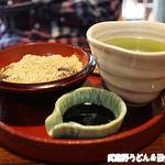 古民家カフェ&ダイニング 枇杏 - 日本茶セットわらびもち