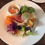 コルド - (料理)ランチセットのサラダ