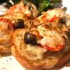 カフェニュートラル - 料理写真:キノコのチーズカナッペ
