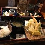 はんなり  - 天ぷら膳〜(・∀.・)۶¥1000円