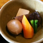 田楽座 わかや - 野菜の煮物