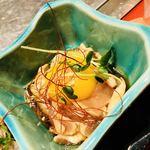 鉄板焼鳥 ニワ - ササミのユッケ