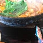 煮込みうどん 二橋 - 四日市の土鍋