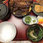 うなぎ料理 吉野屋 - 丁抹ひつまぶし 肝吸い付き(3564円)
