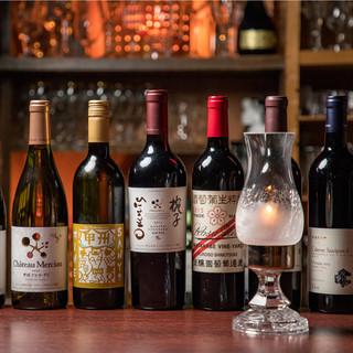 日本ワインとスタンダードシャンパーニュ