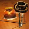 タロ コーヒー - 料理写真:あんバターサンドセット1