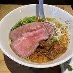 麺屋 西川 - 麺屋 西川(特製牛骨麺 1,000円)