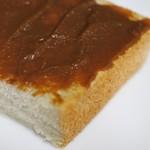 エビアンコーヒー - 食パンにコーヒークリームジャム