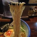 Afuri - 麺は細麺